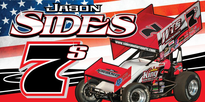 Jason Sides World Of Outlaws 410 Sprint Car Racing